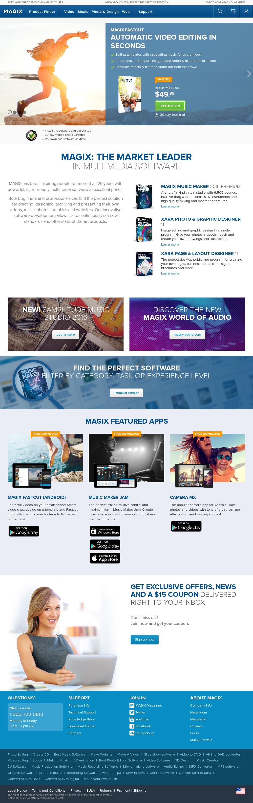 Magix Software GmbH Competitors, Revenue and Employees - Owler