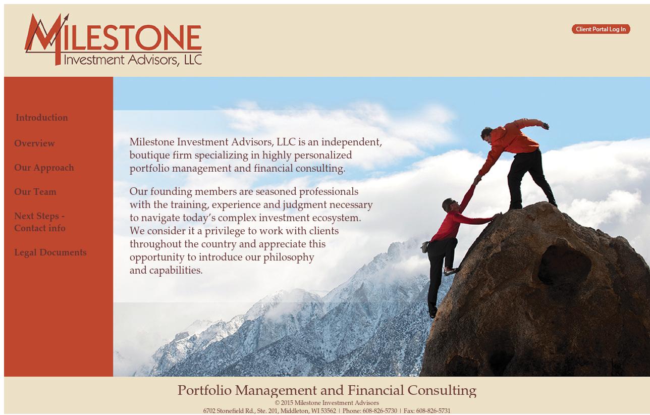 Milestone investment advisors madison wi forex news widgets