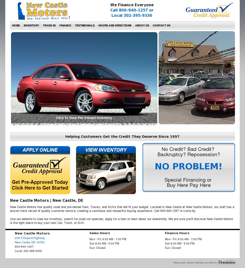 Hyundai New Castle De: New Castle Motors Inventory