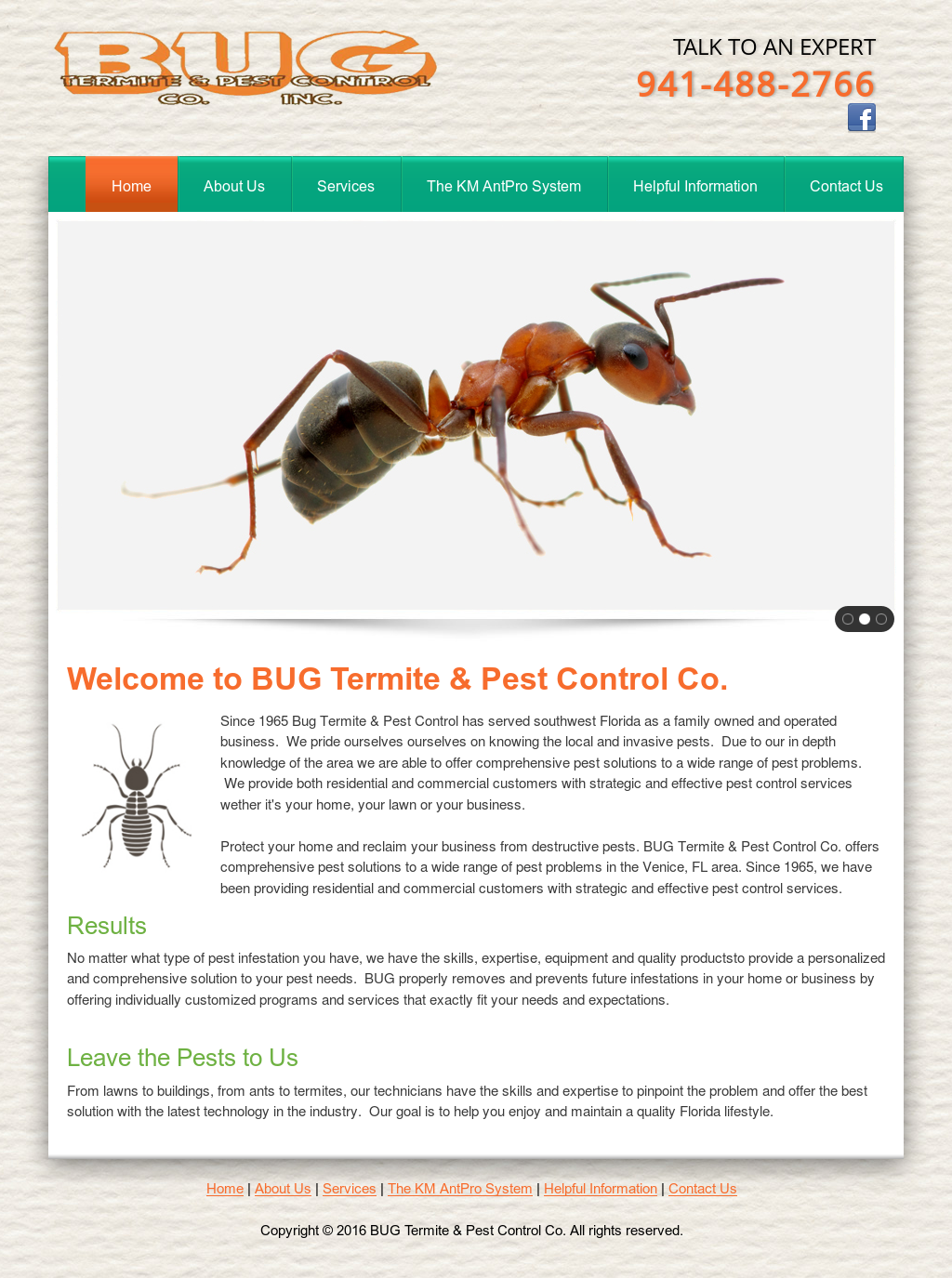 Bug Termite and Pest Control Competitors, Revenue and