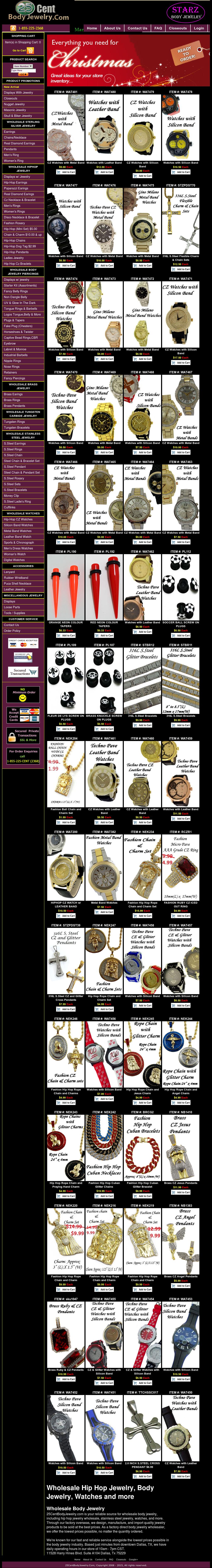 Starz Body Jewelry Competitors Revenue And Employees