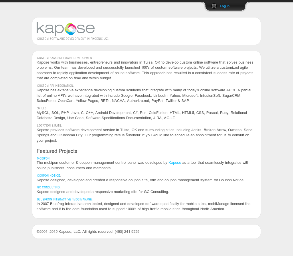 Kapose Competitors, Revenue and Employees - Owler Company