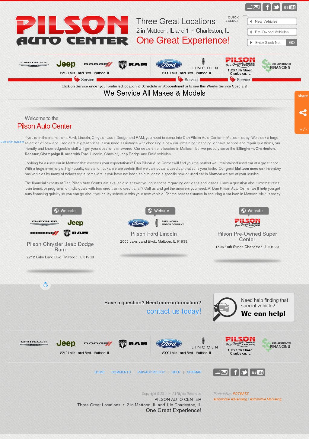 Pilson Auto Center Mattoon >> Dan Pilson Auto Ctr Competitors Revenue And Employees
