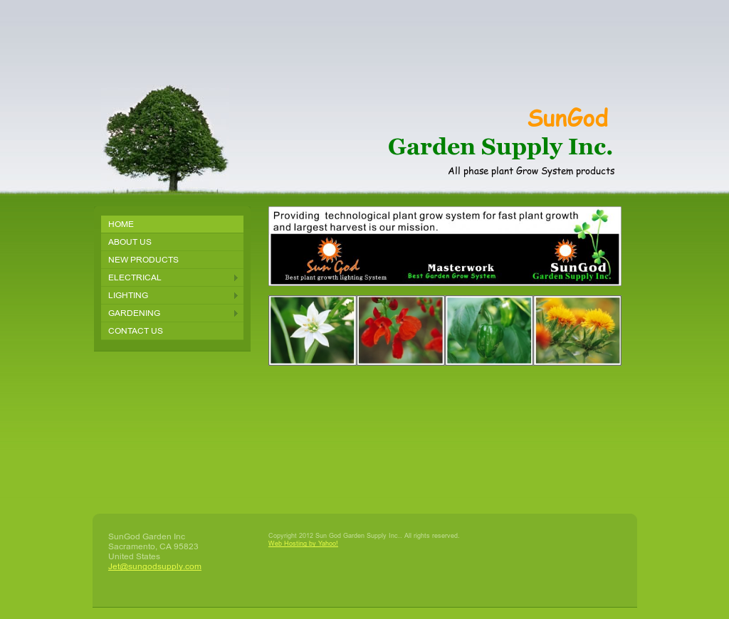 Sun god garden supply competitors revenue and employees for Gardeners supply company
