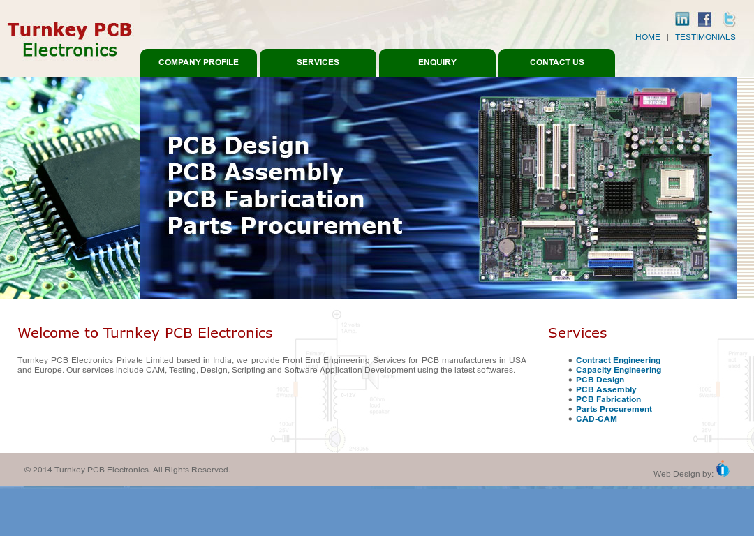 Turnkey Pcb Electronics Competitors, Revenue and Employees - Owler