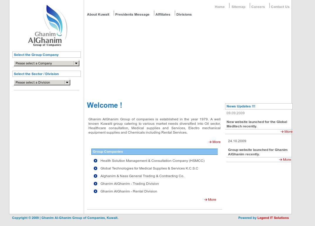 Ghanim Al-ghanim Group Of Companies Competitors, Revenue and