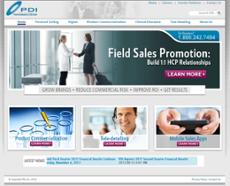 PDI website history