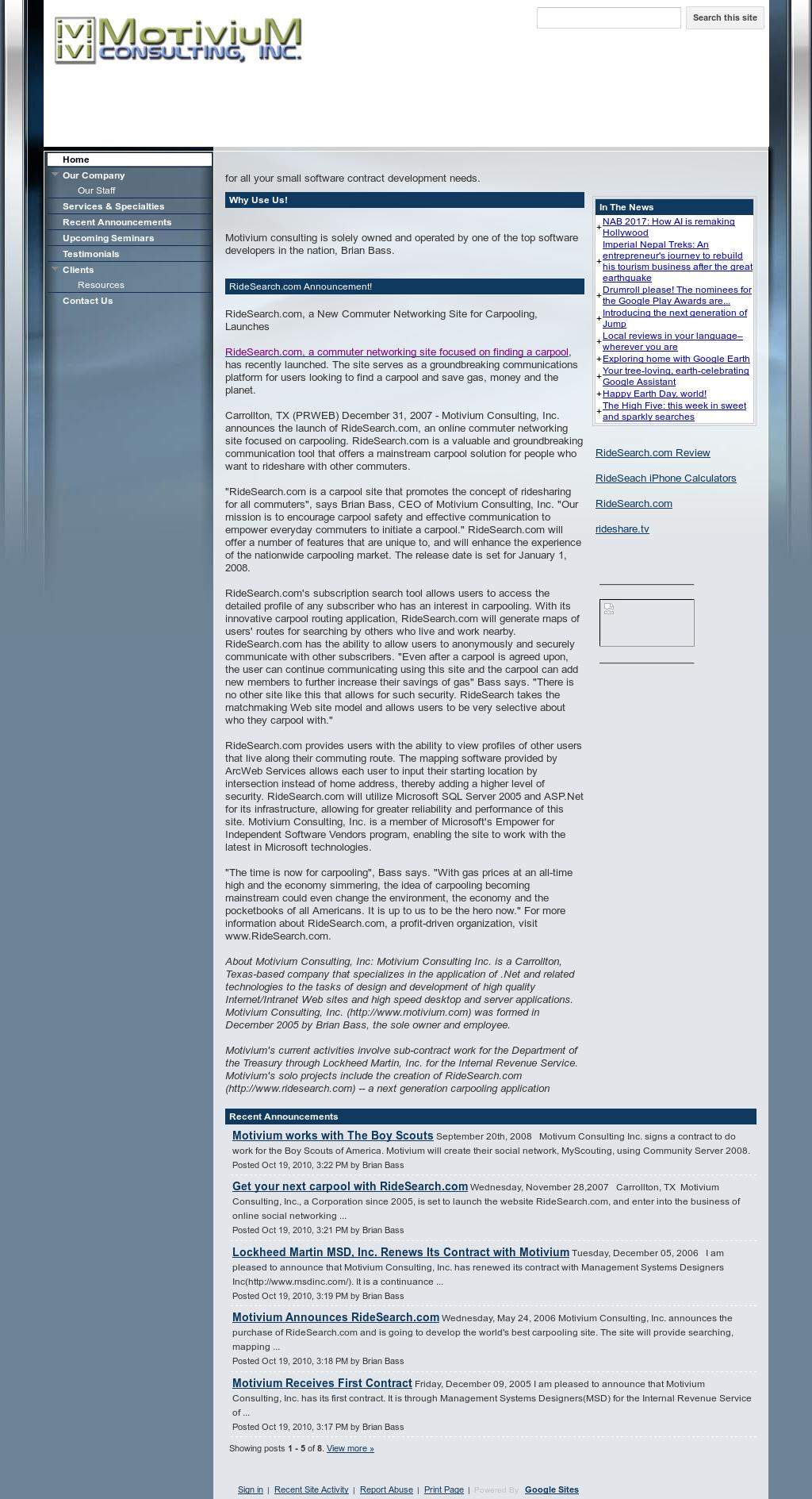 Motivium Consulting Competitors, Revenue and Employees - Owler