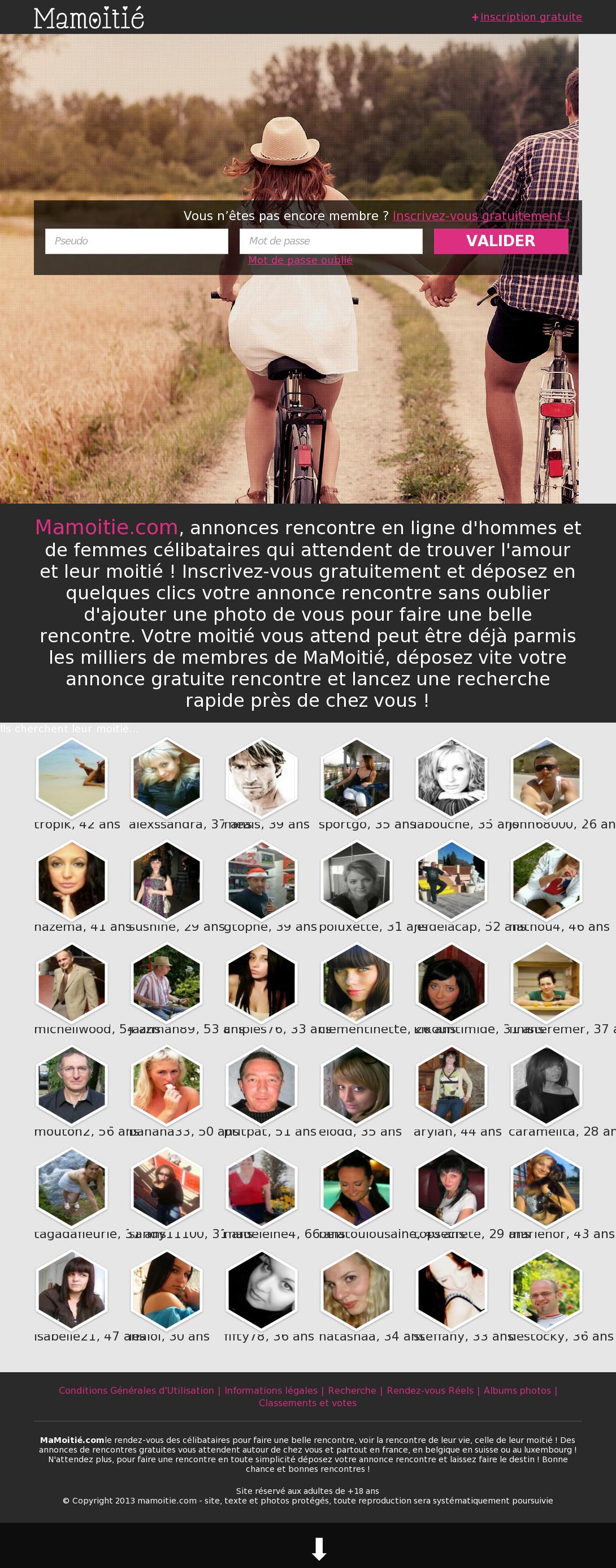 Annonce rencontre sans inscription www site rencontre sexe rennes