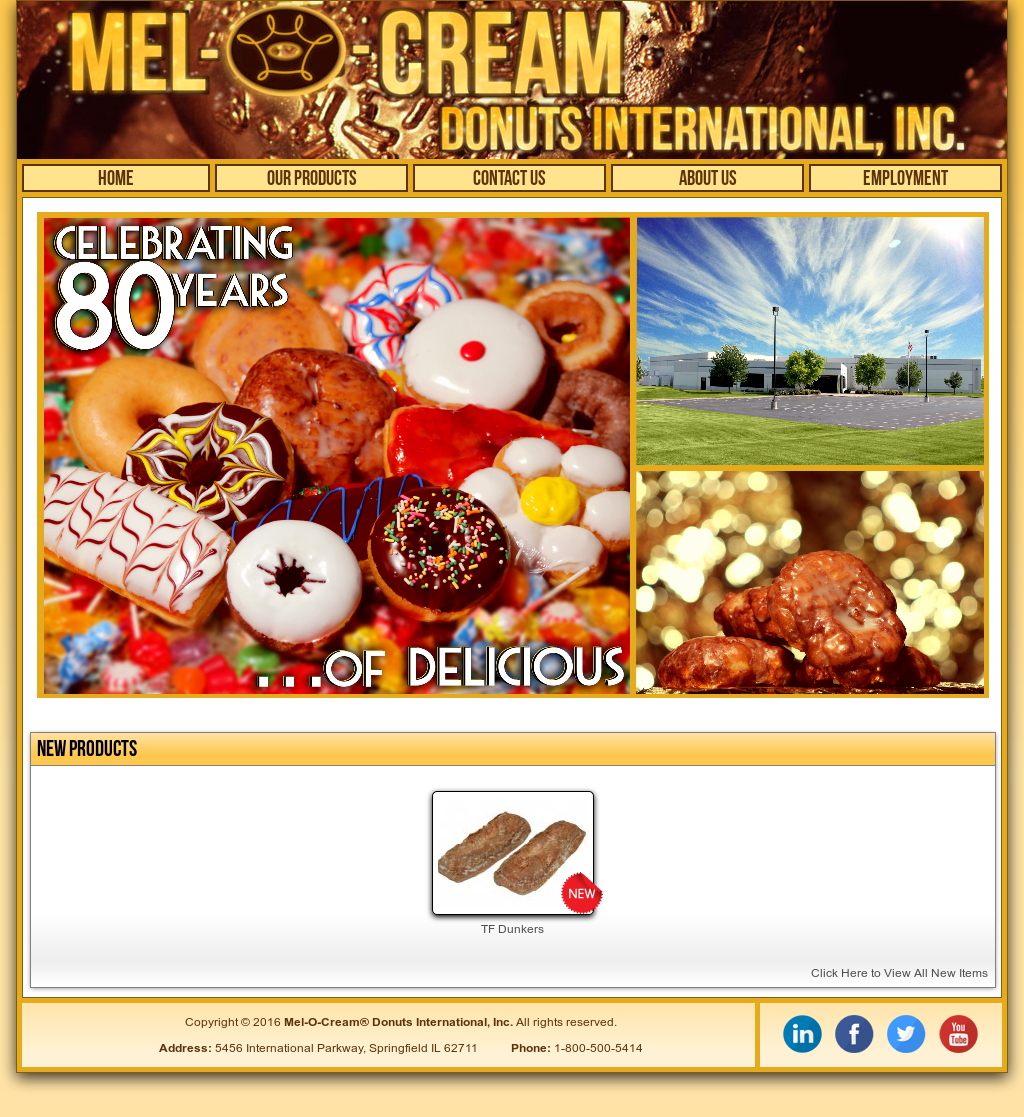 Mel-O-Cream Donuts Competitors, Revenue and Employees