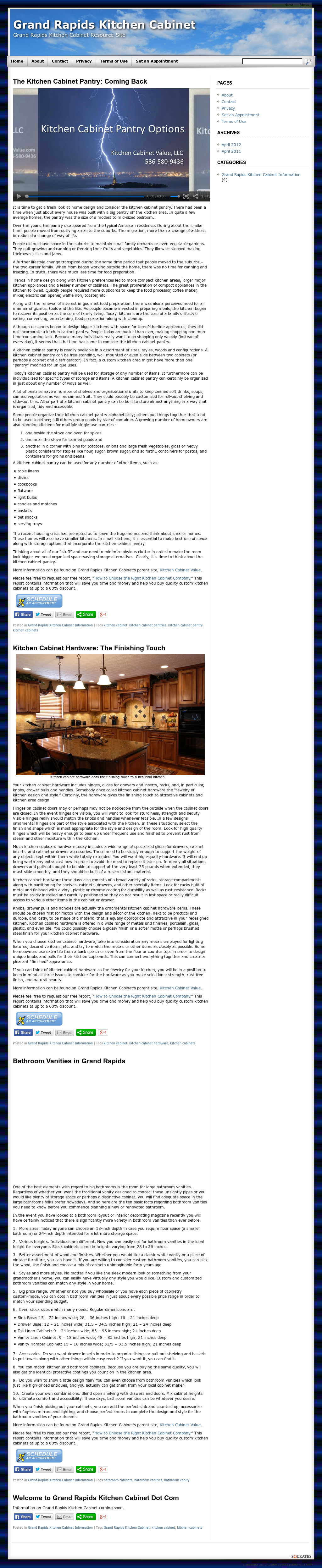 Grand Rapids Kitchen Cabinet Competitors, Revenue and