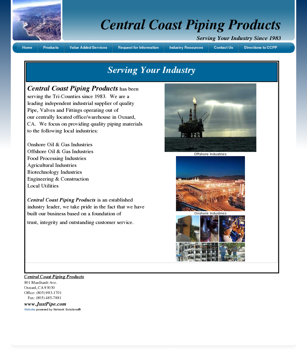 Central Coast Piping Products Competitors, Revenue and