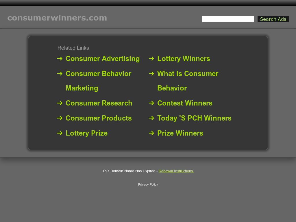Consumer Winners Competitors, Revenue and Employees - Owler Company