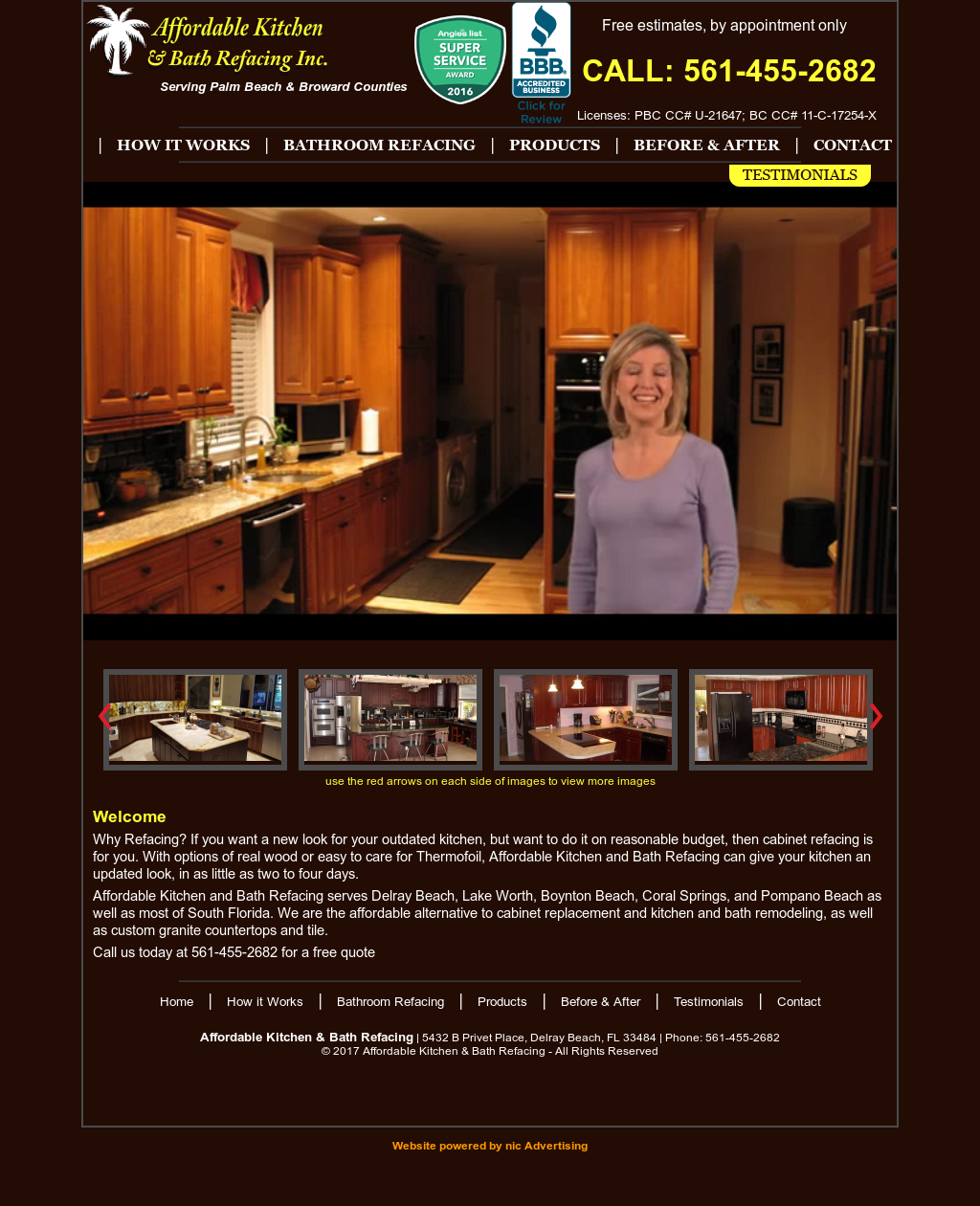 Affordable Kitchen & Bath Refacing Competitors, Revenue and ...