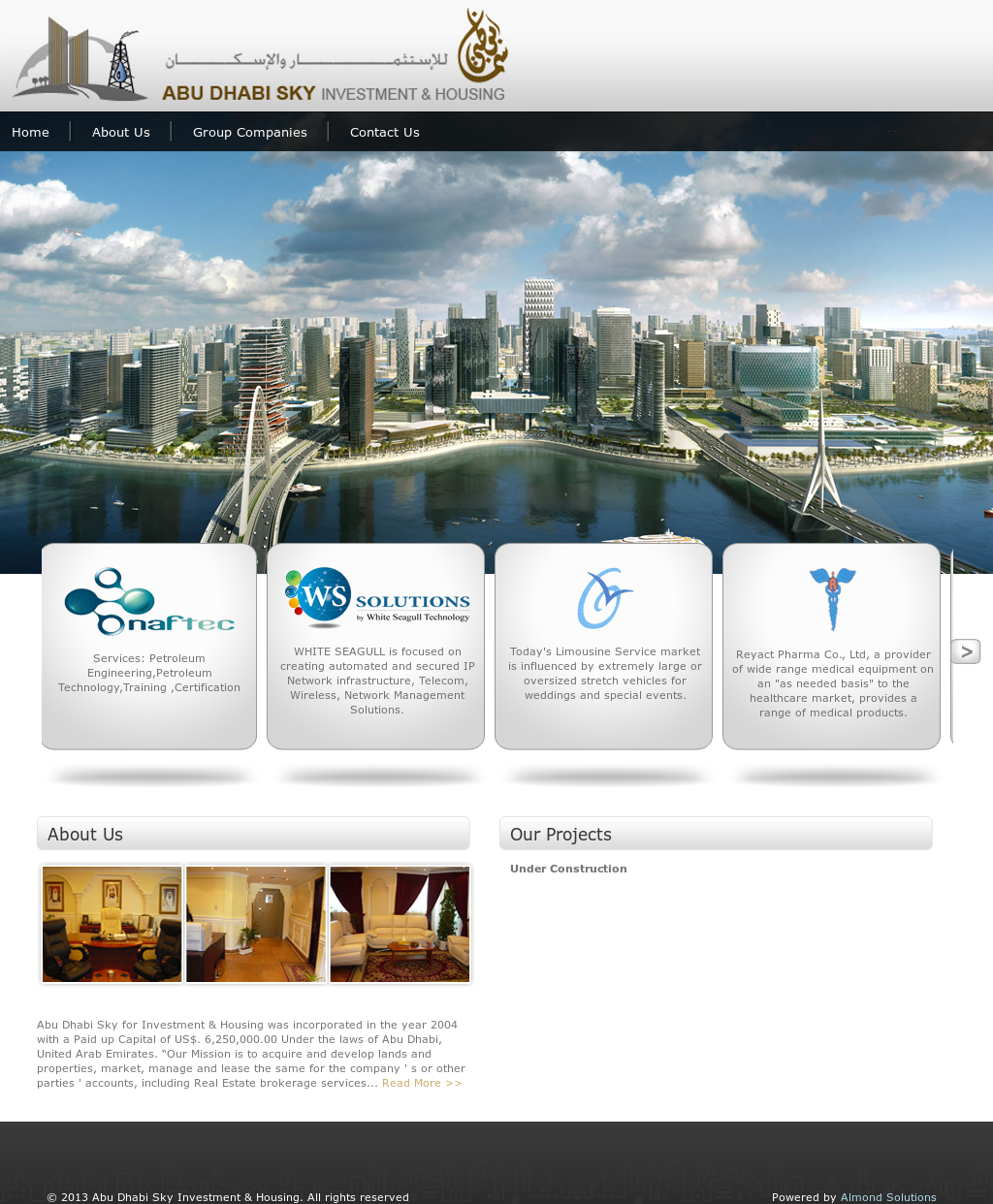 Abu Dhabi Sky Investment & Housing Competitors, Revenue and