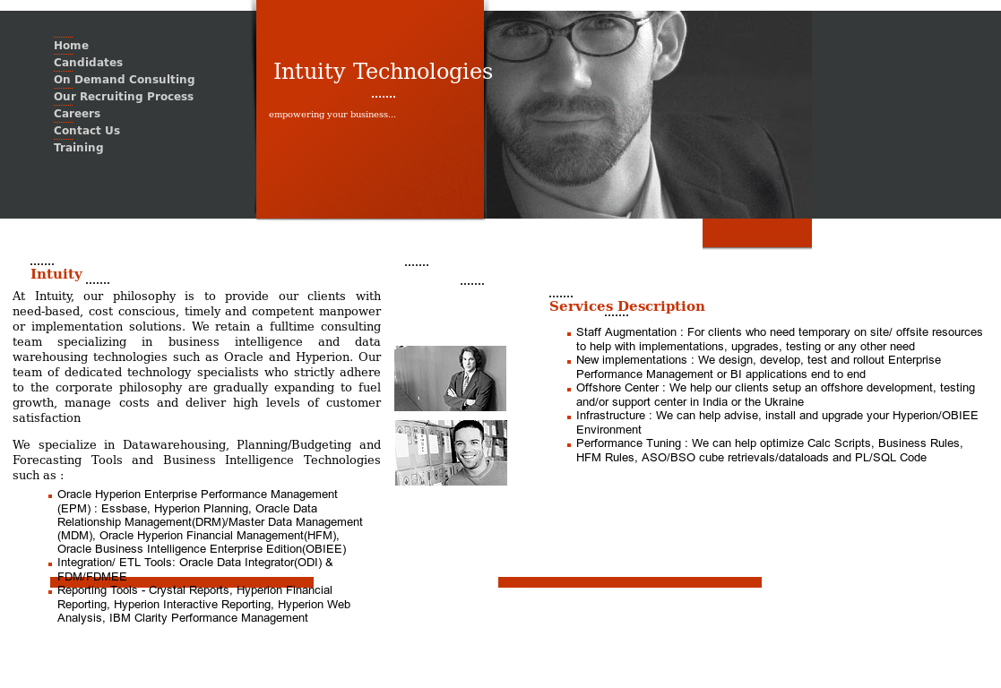 Intuity Technologies Competitors, Revenue and Employees