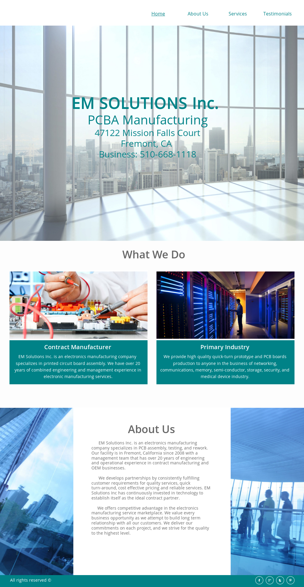 Em Solutions Competitors Revenue And Employees Owler Company Profile Circuit Board Assemblies Found In Communication Industrial Medical Website History
