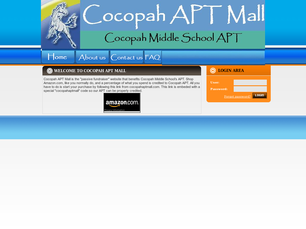Charming Cocopah Apt Mall Website History