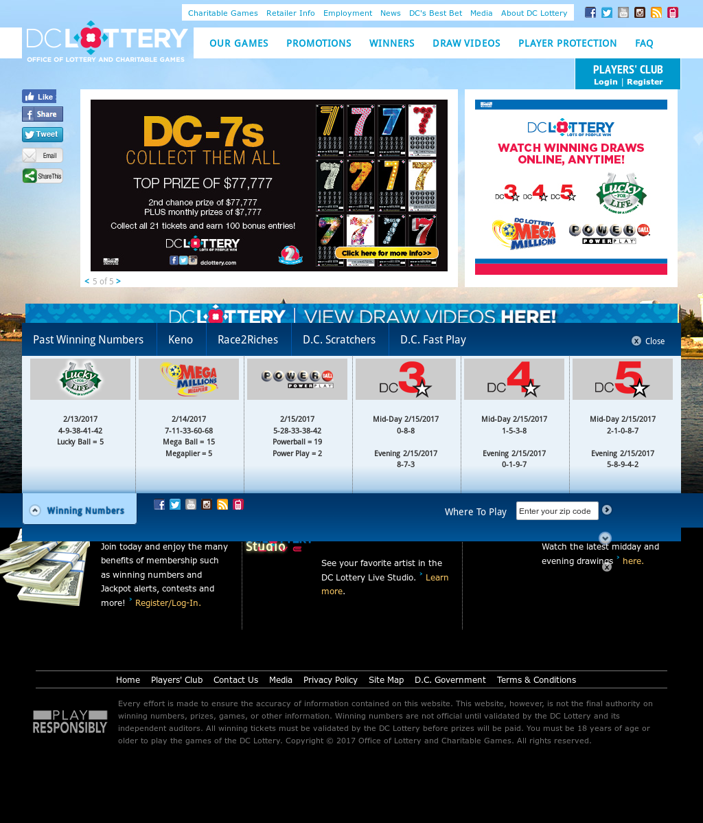 D C  Lottery Competitors, Revenue and Employees - Owler