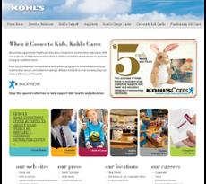 Kohl's website history