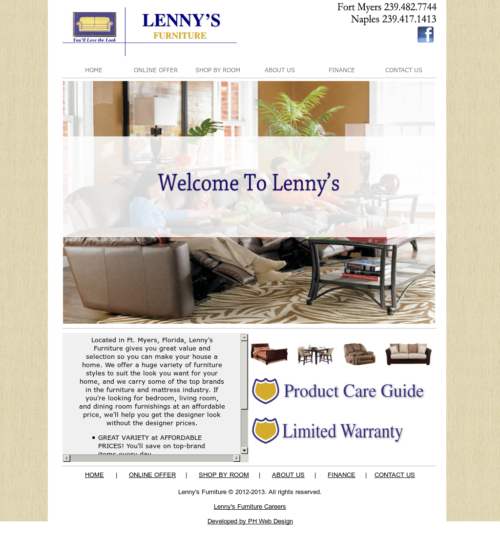 Lennyu0027s Furniture Competitors, Revenue And Employees   Owler Company Profile