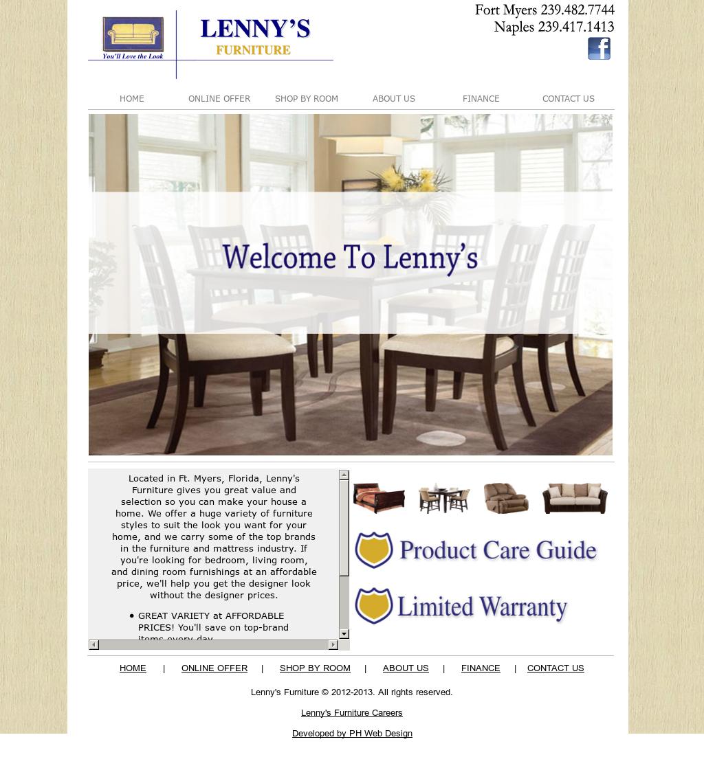 Beau Lennyu0027s Furniture Competitors, Revenue And Employees   Owler Company Profile