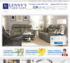 Lennyu0027s Furniture Website History
