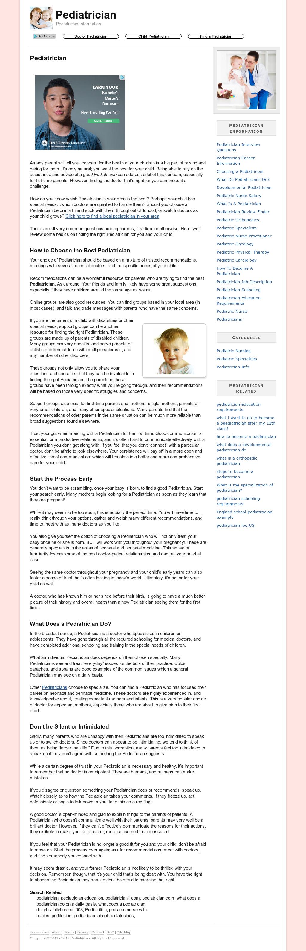 Pediatrician Competitors, Revenue and Employees - Owler Company Profile