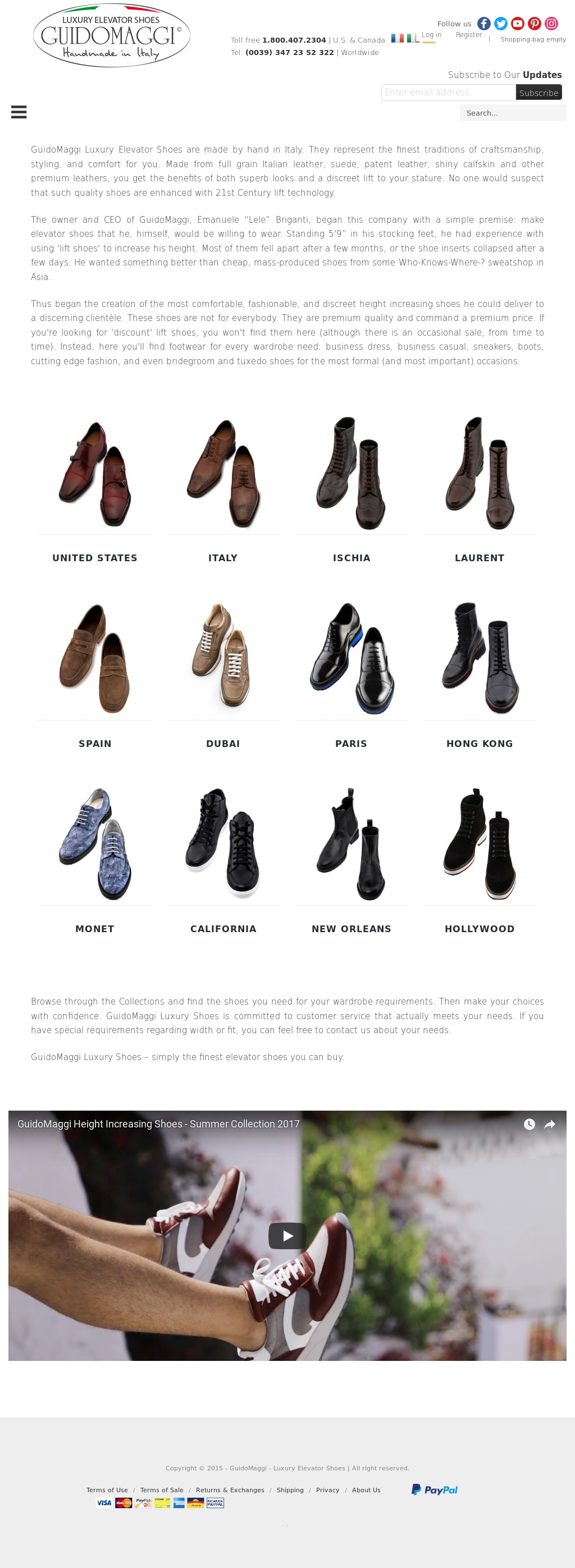 Luxury Elevator Shoes Competitors, Revenue and Employees