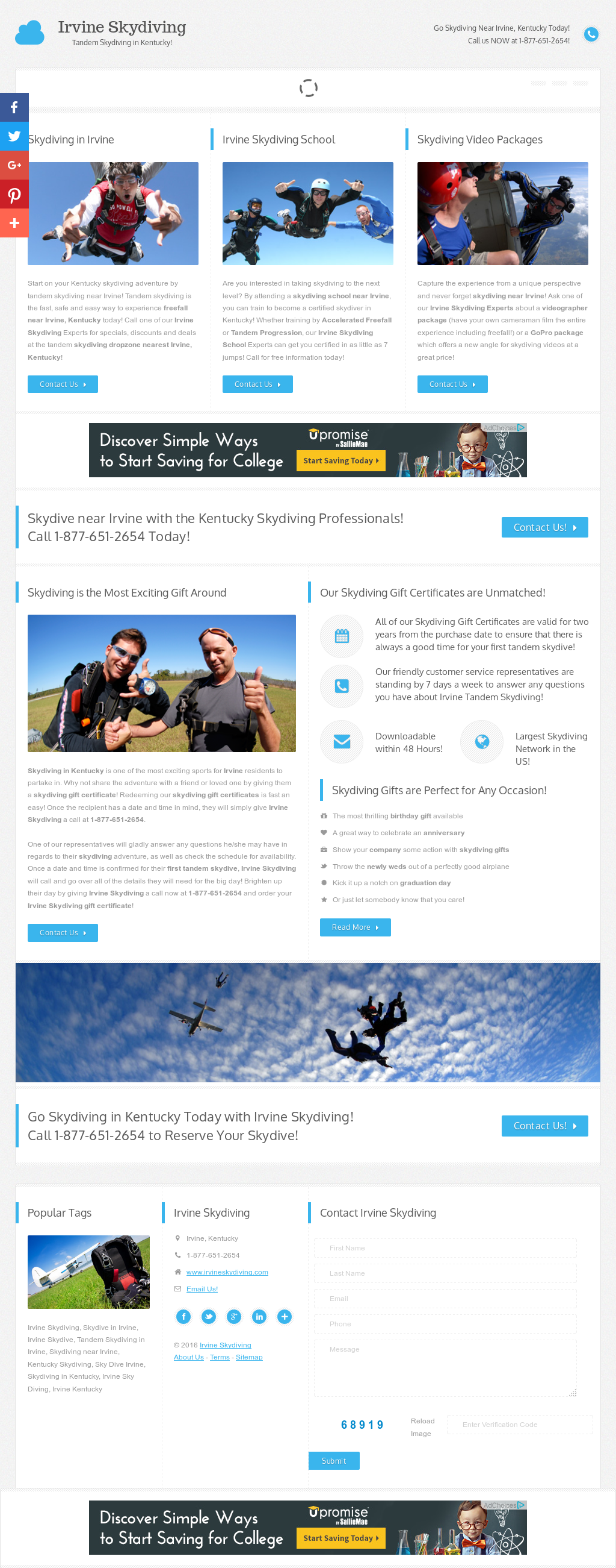 Irvine Skydiving Competitors, Revenue and Employees - Owler Company ...