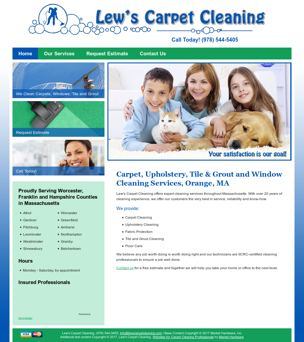 Lew's Carpet Cleaning Competitors