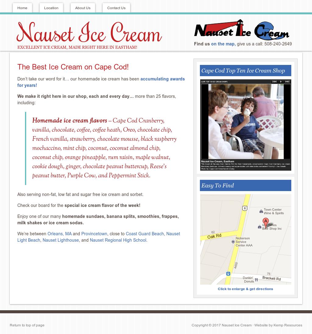 Nauset Ice Cream Competitors, Revenue and Employees - Owler