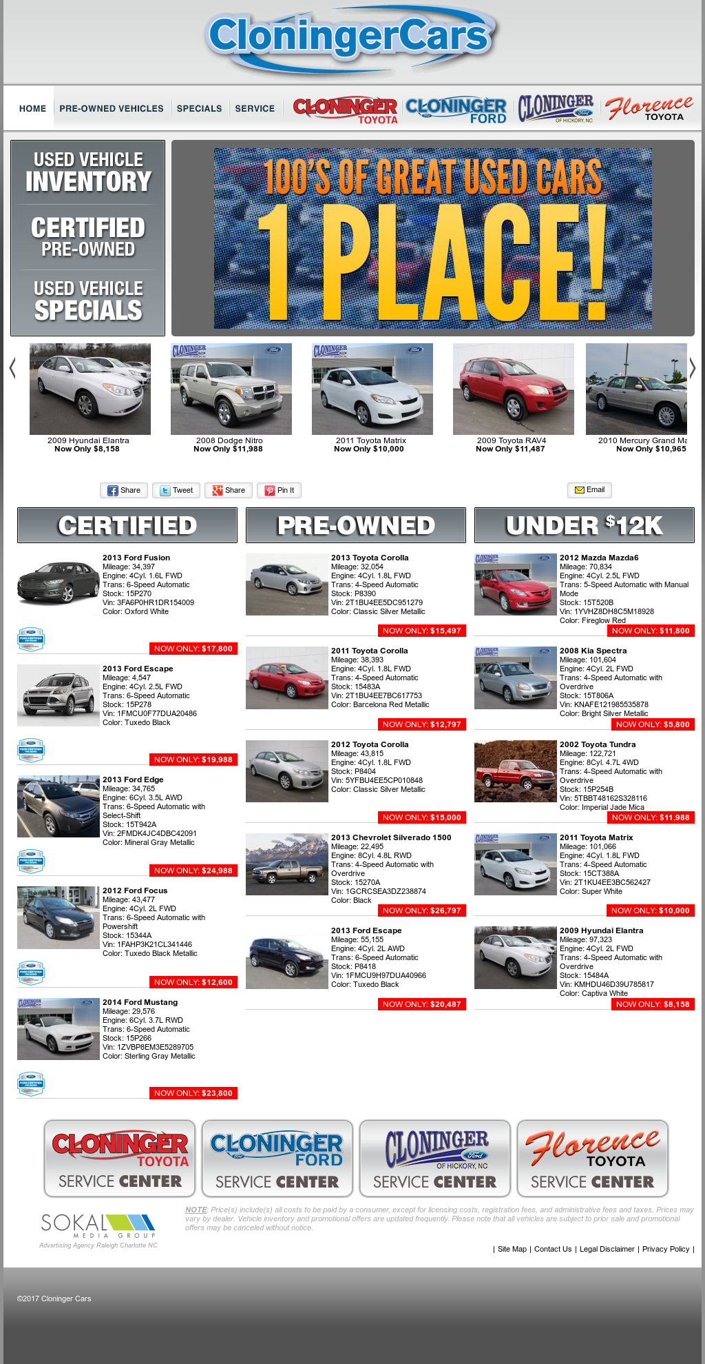 Cloninger Cars Competitors Revenue And Employees Owler Company Hyundai 2 7l Engine Design Website History