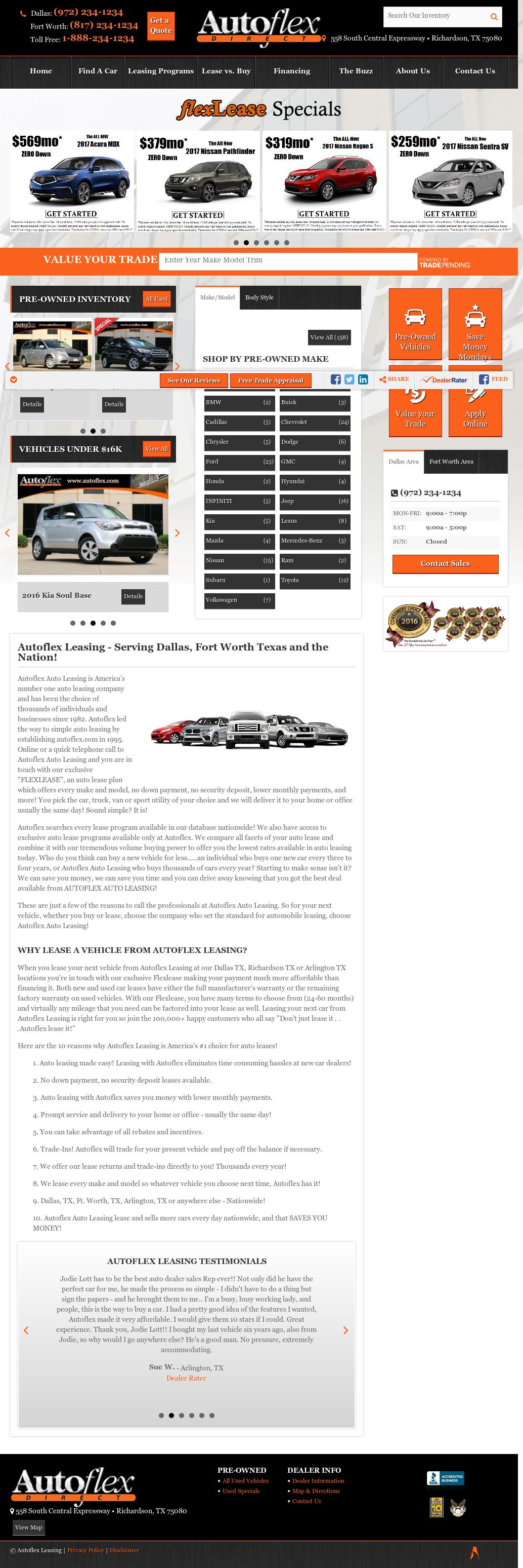 Autoflex Auto Leasing petitors Revenue and Employees Owler