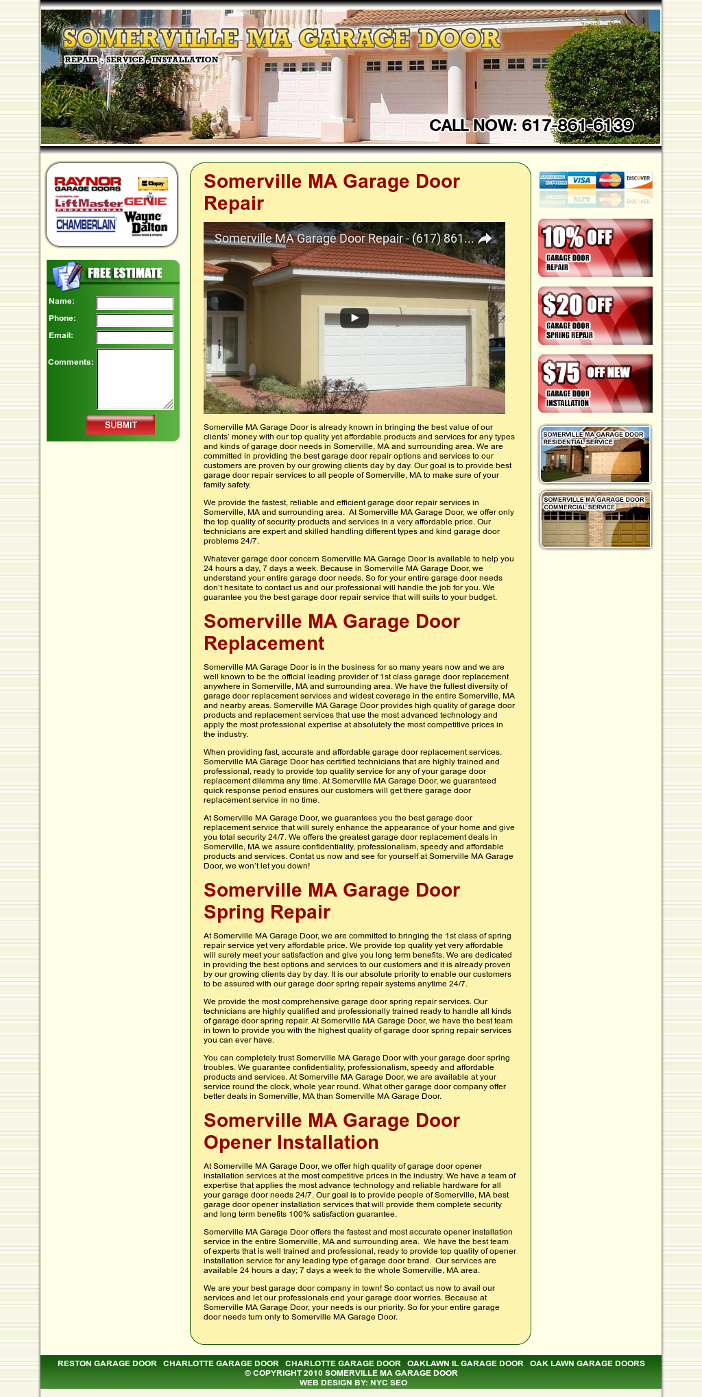 Somerville Ma Garage Door Competitors Revenue And Employees Owler