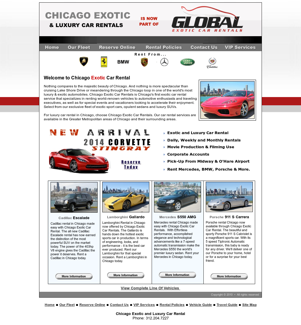 Chicago Exotic And Luxury Car Rental Competitors, Revenue And Employees    Owler Company Profile