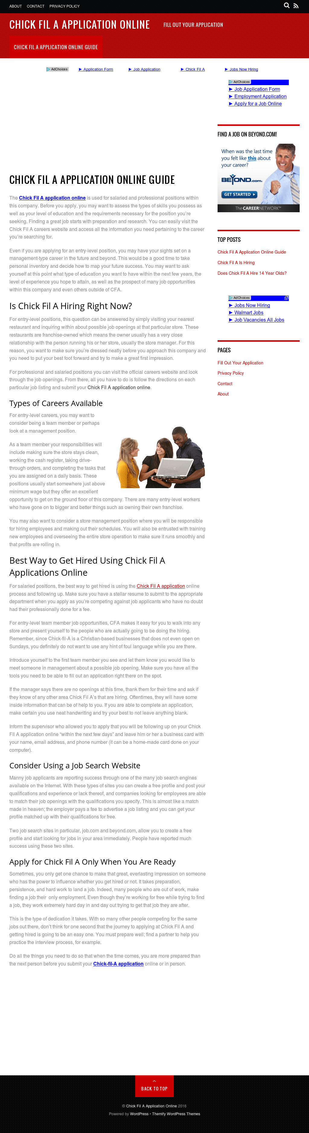 Chick Fil A Application Online Competitors, Revenue and Employees ...