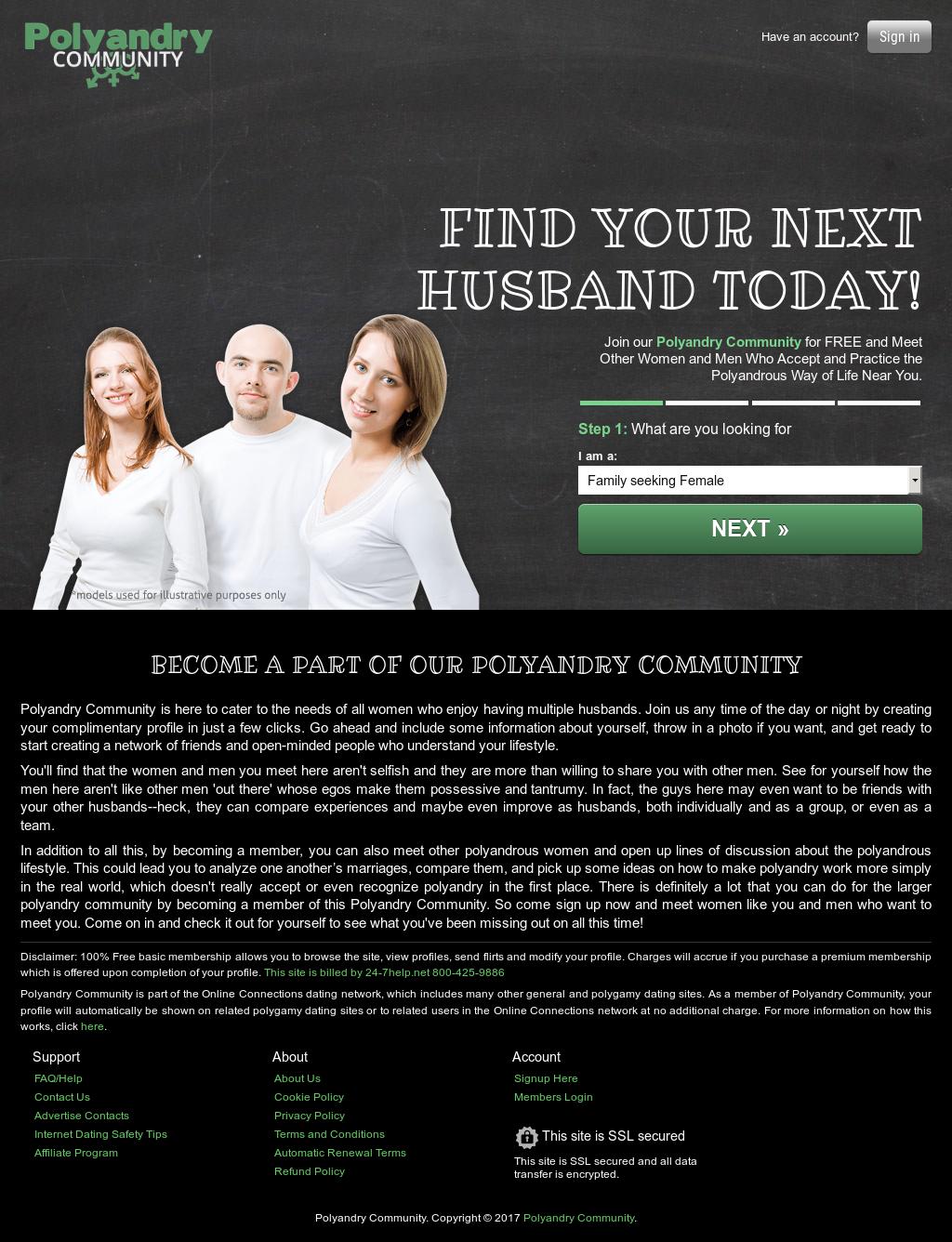 Polyandry Online-Dating