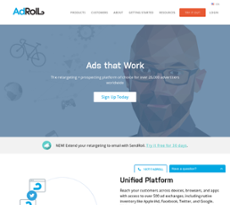 AdRoll website history