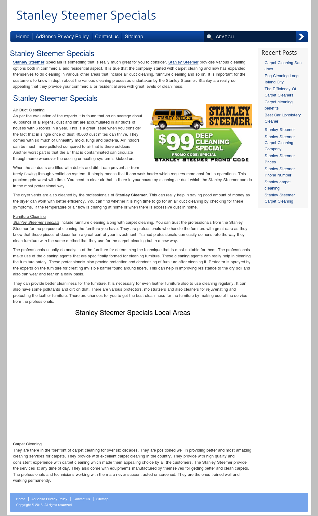 Stanley Steemer Competitors, Revenue