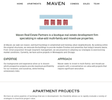 Maven Real Estate Partners Competitors, Revenue and