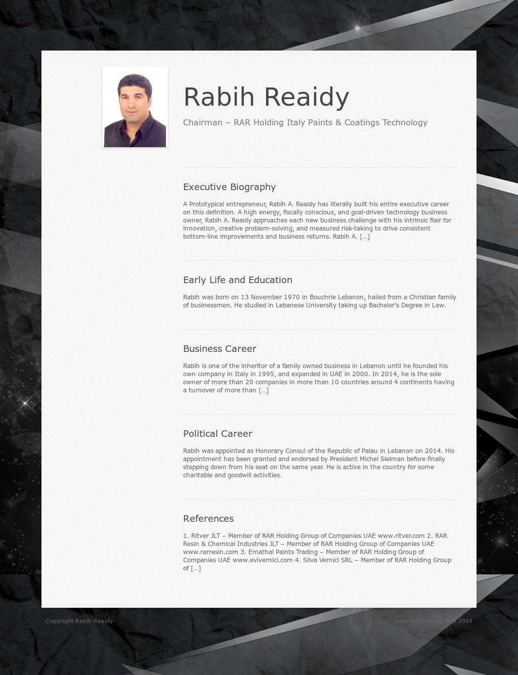 Rabih Reaidy Competitors, Revenue and Employees - Owler Company Profile