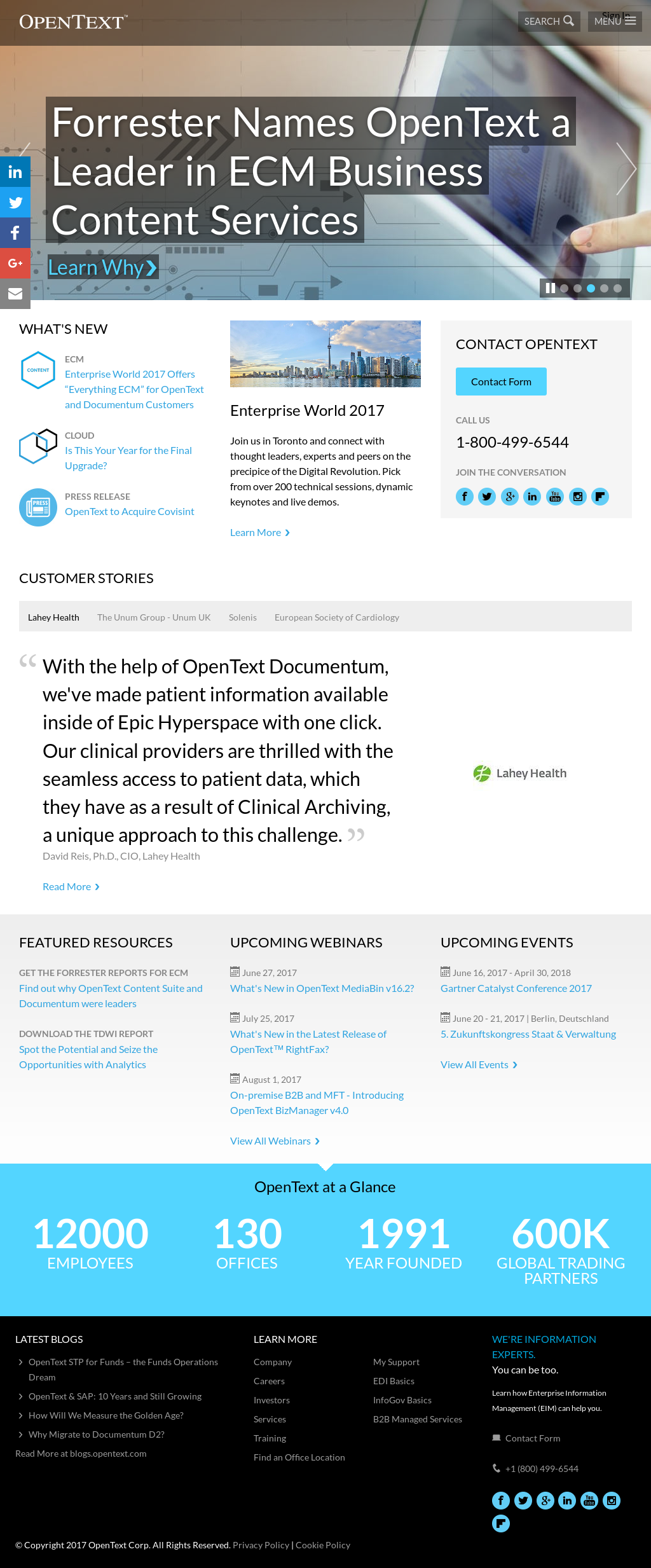 OpenText Competitors, Revenue and Employees - Owler Company