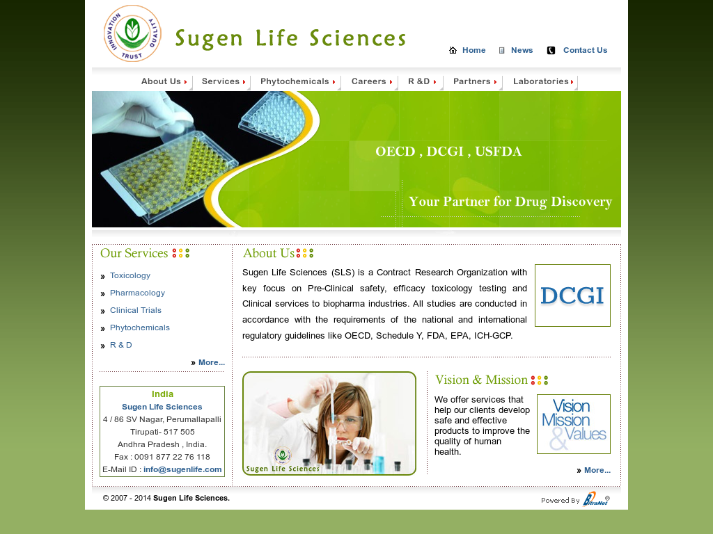 life sciences 2014 guidelines