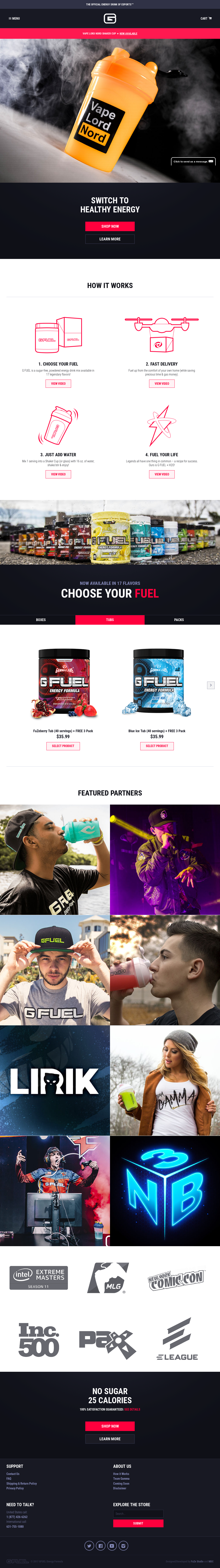 G Fuel Competitors, Revenue and Employees - Owler Company Profile