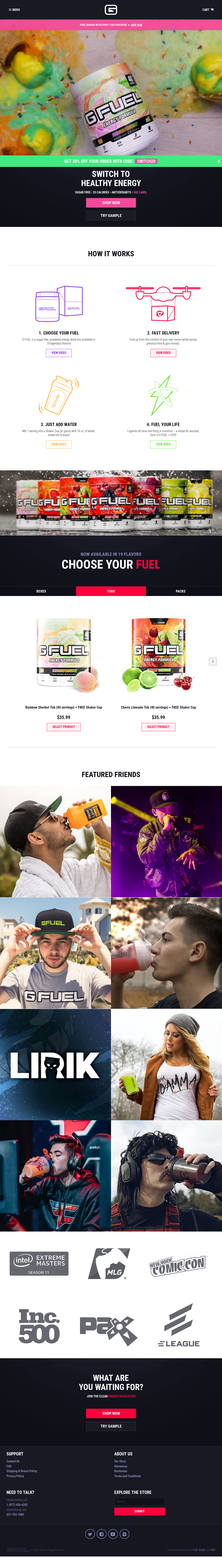 G Fuel Competitors, Revenue and Employees - Owler Company