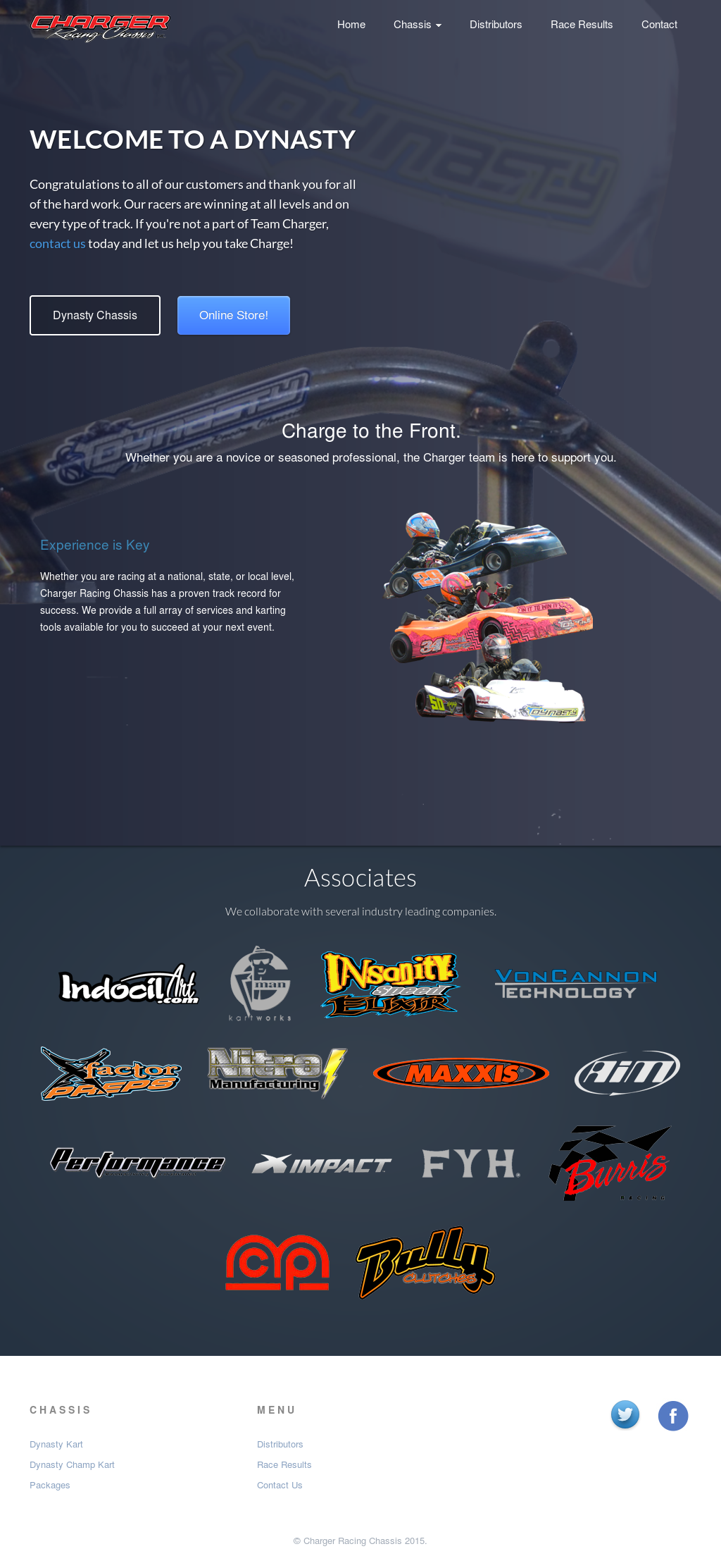 Charger Racing Chassis Competitors, Revenue and Employees