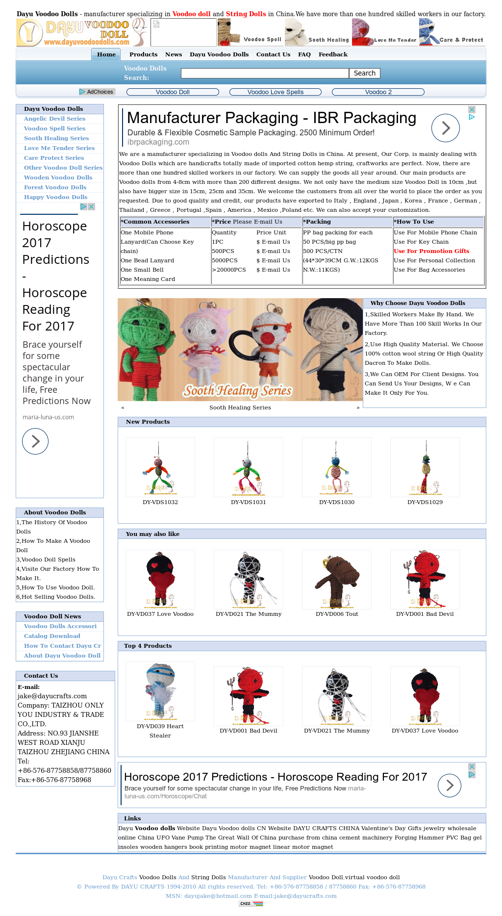 Dayu Voodoo Doll Competitors, Revenue and Employees - Owler
