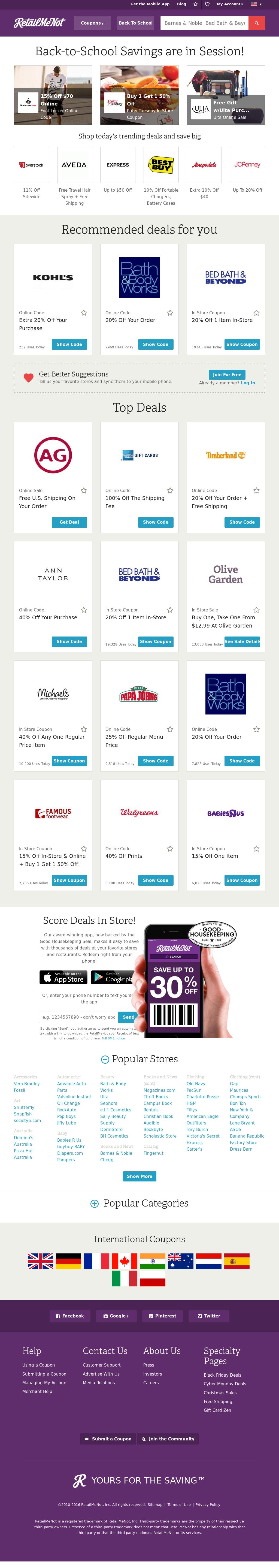 RetailMeNot Competitors, Revenue and Employees - Owler