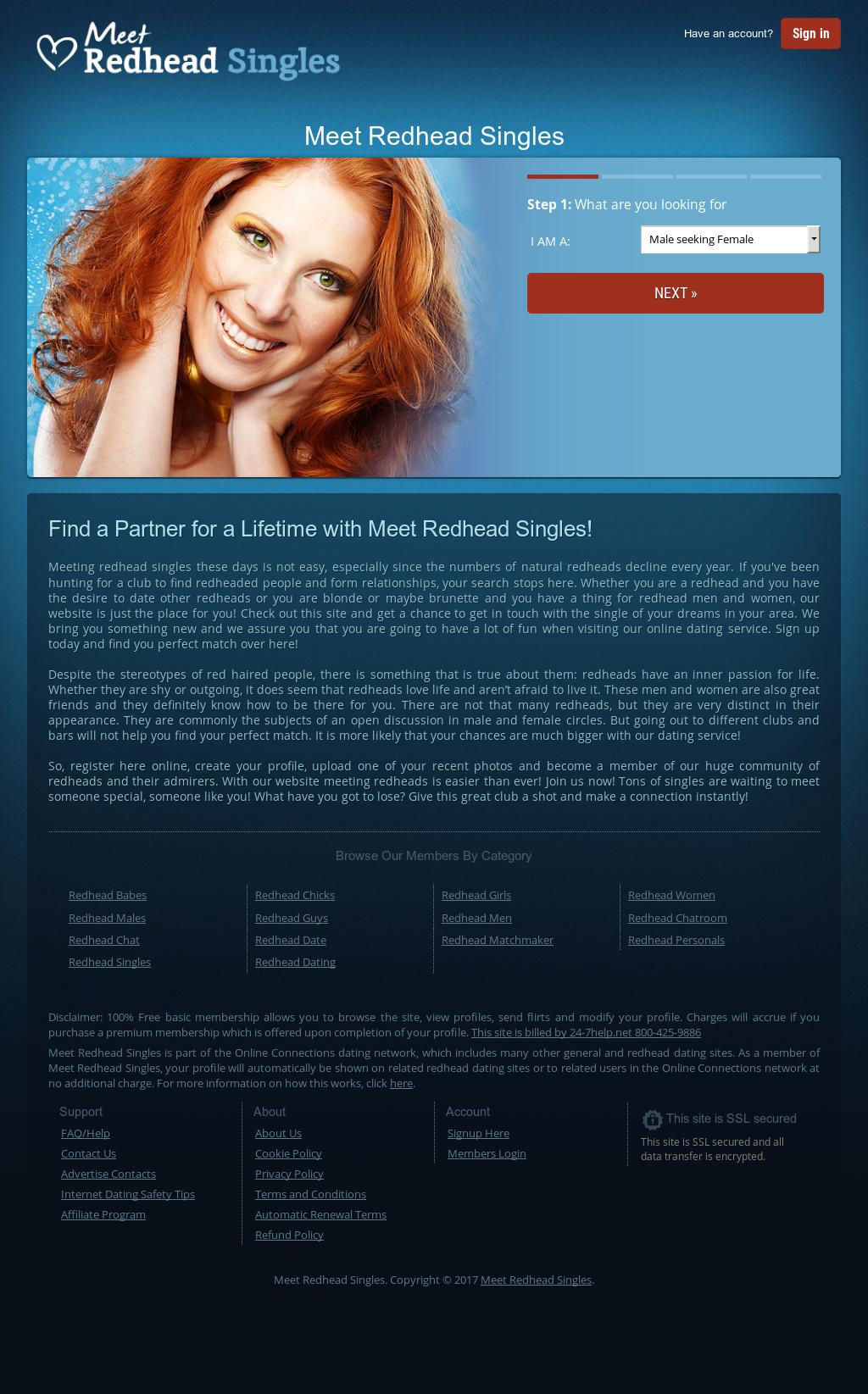 Beste Redhead dating website
